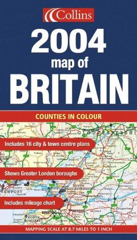 Map of Britain 2004
