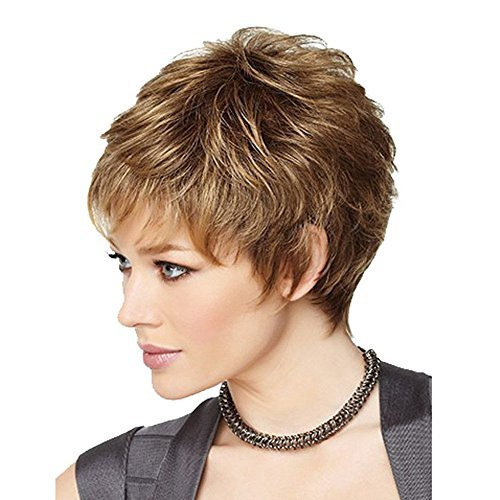 DSY nueva moda encantadora mujeres pelucas cabello
