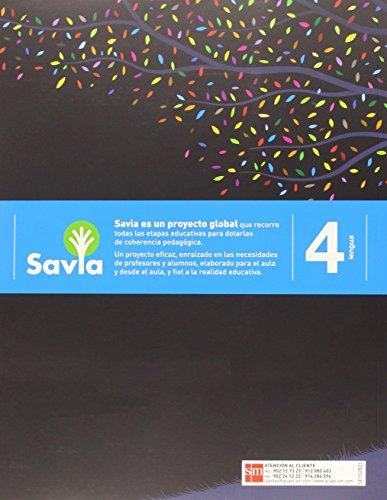 Lengua. 4 Primaria. Savia  - Pack de 3 libros - 9788467575385