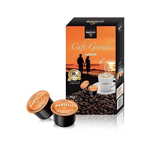 50X MARTELLO Cafe grande caffè Capsule Capsule per capsule di caffè
