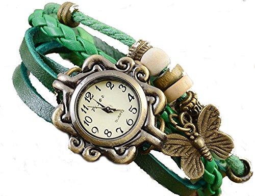demarkt-retro-pulseras-de-reloj-para-mujeres-color-verde