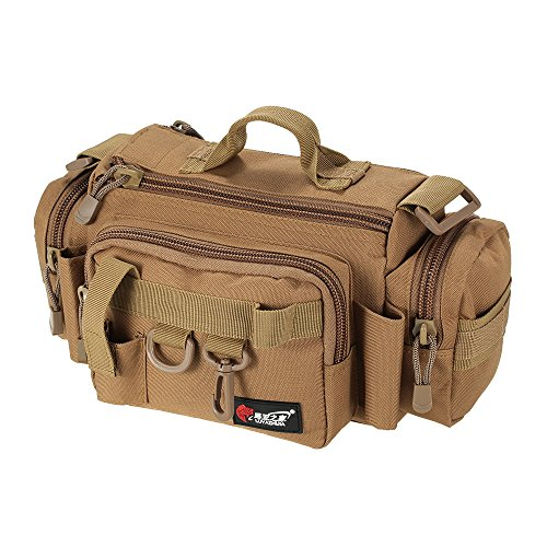 Lixada borse di pesca multifunzionale pesca pesca barca borsa esca waist bag box case spugnosa tackle bag borsa