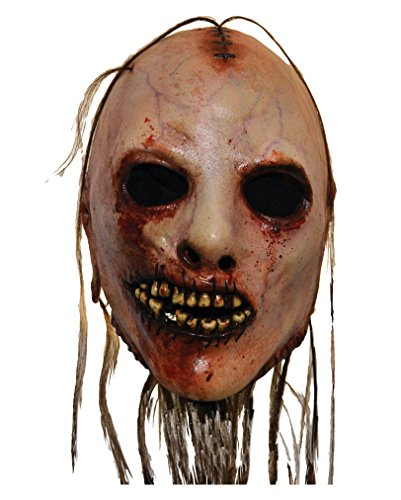 American Horror Story Adult Costume Face Mask Bloody Face (Justin-herren-natural)