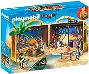 Playmobil 70150 Pirates meenemen piraateiland, kleurrijk