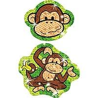 30 x Lively Monkey (+ 18 small Banana Stickers) Children