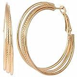 Efulgenz Trendy Hoop Earrings for Girls ...