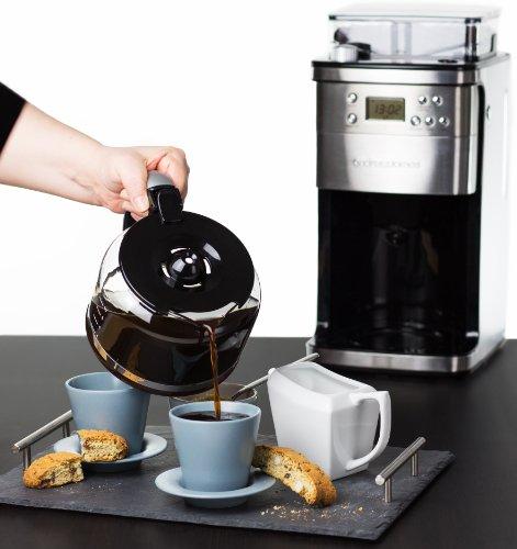 vente machine a cafe a filtre andrew james machine a caf grain avec broyeur cafetire filtre. Black Bedroom Furniture Sets. Home Design Ideas