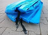 Universal Federabdeckung 360 – 366 12 FT für Trampolin Randabdeckung Randschutz Abdeckung PVC zweiseitig – UV beständig - 3