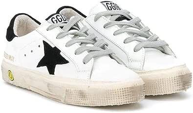 Golden Goose Luxury Fashion Ragazzo GYF0112F00052510283 Bianco Pelle Sneakers | Primavera-Estate 21