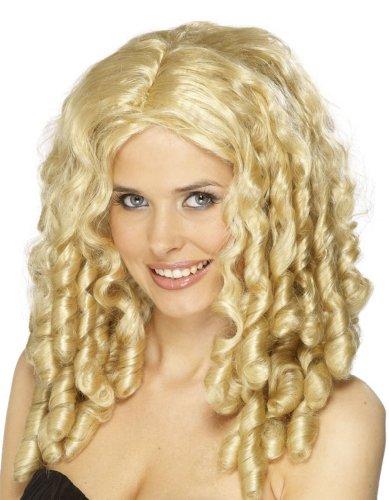 Film Star Perücke blonde Lockenperücke blond Damenperücke Perücke für Damen VIP Goldlöckchen