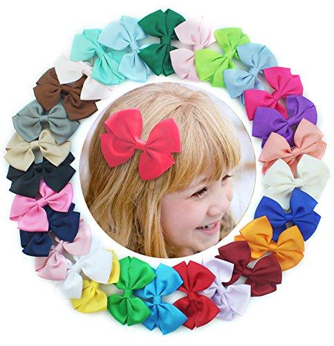 27pcs-colores-3pulgadas-boutique-lazos-para-el-pelo-para-nias-nios-pinzas-de-cocodrilo-slido-lazo-di