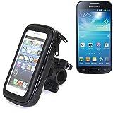 Bike Mount support pour Samsung Galaxy S4 Mini Duos, convient pour vélo, moto, quad, scooter, etc. hydrofuge, étanche à la pluie - K-S-Trade (TM)