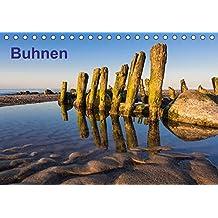 Buhnen (Tischkalender 2017 DIN A5 quer): Fotos von Buhnen an der Ostseeküste. (Monatskalender, 14 Seiten ) (CALVENDO Natur)