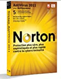 Symantec Norton AntiVirus 2011 - Seguridad y antivirus (Caja, 5 usuario(s), 1 Año(s), FRE, PC, 300 MB)