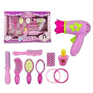 Mode Beauté Jeux d'imitation Set Kit de maquillage jouet pour enfants, Onze