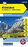 Kitzbühel, St. Johann i. T., Wilder Kaiser: Nr. 10, Outdoorkarte Österreich, 1:35 000, Freemap on Smartphone included (Kümmerly+Frey Outdoorkarten Italien)