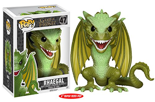 Pop-TV-Juego-de-tronos-Game-of-Thrones-Rhaegal-Dragn-15cm-figura
