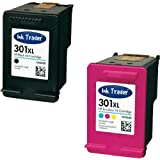 HP 301XL Remanufactured Black & Colour Ink Cartridges (1st Generation) for use with HP Deskjet 3000, 3050, 3050A, 3050s, 3050ve, 3052A, 3054A & 3055A Printers by Ink Trader