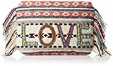 Alessandra Damen Clutch All You Need is Love - Mehrfarbig - Einheitsgröße