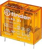 Finder Printrelais 1WE 10A 12VAC 40.31.8.012.0000