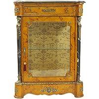 Comparador de precios Casa-Padrino Empire Showcase Bird's Eye Maple 85 x H105 cm - China Cabinet - Cupboard Baroque - precios baratos