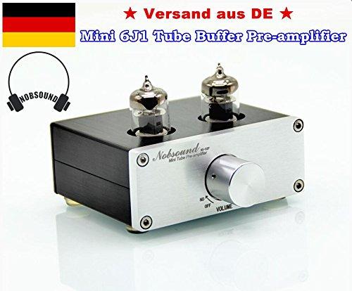 Nobsound Mini 6J1 Tube Preamp Audio HiFi Buffer Pre-Amplifier Vorverstärker