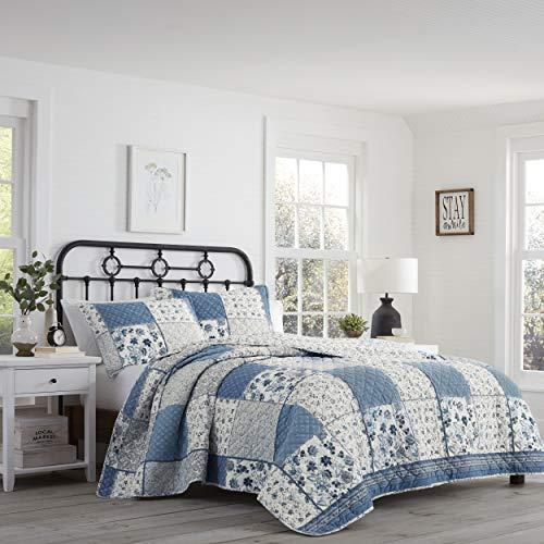 Stone Cottage Ludlow Quilt Set, Twin, Blue - Quilt Twin Cottage