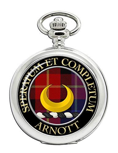 Arnott Scottish Clan Crest Taschenuhr