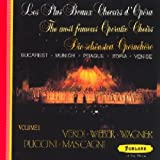 Oeuvres pour orchestre de Verdi, Wagner, Puccini & Mascagni