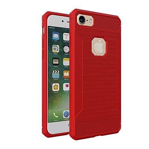 custodia silicone rossa iphone 8