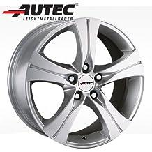 Aluminio Llanta autec Ethos Volkswagen Corrado 53i 6.5x 15Brillant Plata