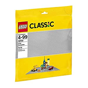 LEGO Classic BaseGrigia, Giocattolo per l'Apprendimento, 10701 LEGO