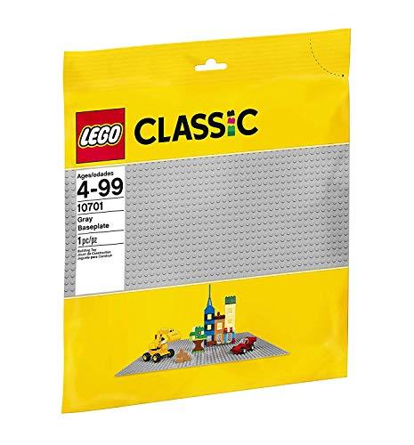 LEGO Classic - Base de color gris (10701)