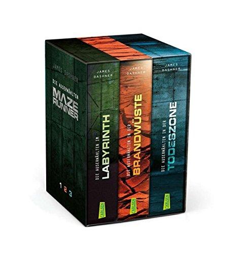 Buchcover Maze Runner – Die Auserwählten. Band 1-3 im Schuber (Die Auserwählten – Maze Runner)