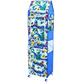 Amardeep Jungle Multipurpose Toy Box, Blue