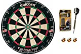 Target Phil Taylor 24g Bolt Darts + Unicorn Eclipse Pro Dartboard + McDart®Flights