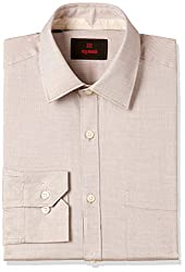 Raymond Mens Formal Shirt (8907576905956_RMSX06962-F3_40_Medium Fawn)