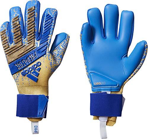 adidas Herren Torwarthandschuhe Predator PRO Gold met./Football Blue 9.5