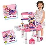 Brigamo 537Table de toilettage-Table à langer poupées avec accessoires