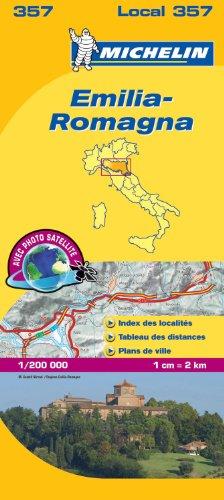 Carte Emilie-Romagne Michelin
