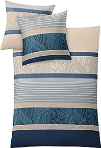 kleine wolke 6162271952 bettw sche cambridge 135 x 200 cm taupe k che haushalt. Black Bedroom Furniture Sets. Home Design Ideas