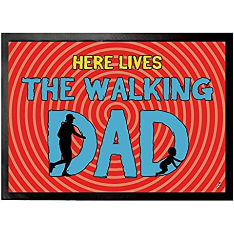 Padri - Here Lives The Walking Dad Zerbino (70 x 50cm)