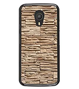 PrintVisa Designer Back Case Cover for Meizu M1 Note :: Meizu Note 1 (Stone Texture Decorative Rock Wall)