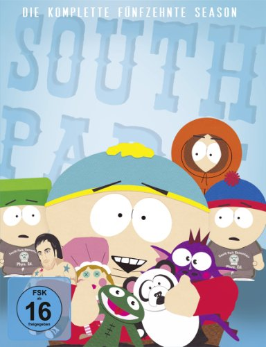 South Park: Die komplette fünfzehnte Season [3 DVDs] - Partnerlink