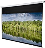 Celexon Rolloleinwand Economy - 280 x 158 cm - 16:9 - Gain 1,0 - Full-HD und 4K fähige Beamer-Leinwand - manuell ausziehbare Leinwand