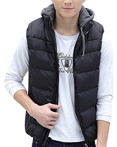 laozan-gilet-canottiera-piumino-con-cappuccio-hoodie-e-tasca-morbido-e-caldo-nero-medium