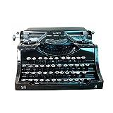 WUYANSE Retro Vintage Schreibmaschine, Display Requisiten Modell handgemachte...