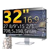 Xianan 32 Zoll 16:9 Breitbild Displayfilter Bildschirmfilter 27