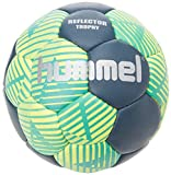 Hummel Erwachsene Reflector Trophy HB Handball, grün (Ceramic Blue/Safety Yellow), 2