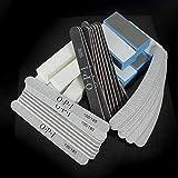 SunnyGod Strumenti di Bellezza Manicure - Strumento 40 Pz / 1 Set, Lotto 40 Kit Manicure 30 Lima per Unghie + 10 Tampone di levigatura